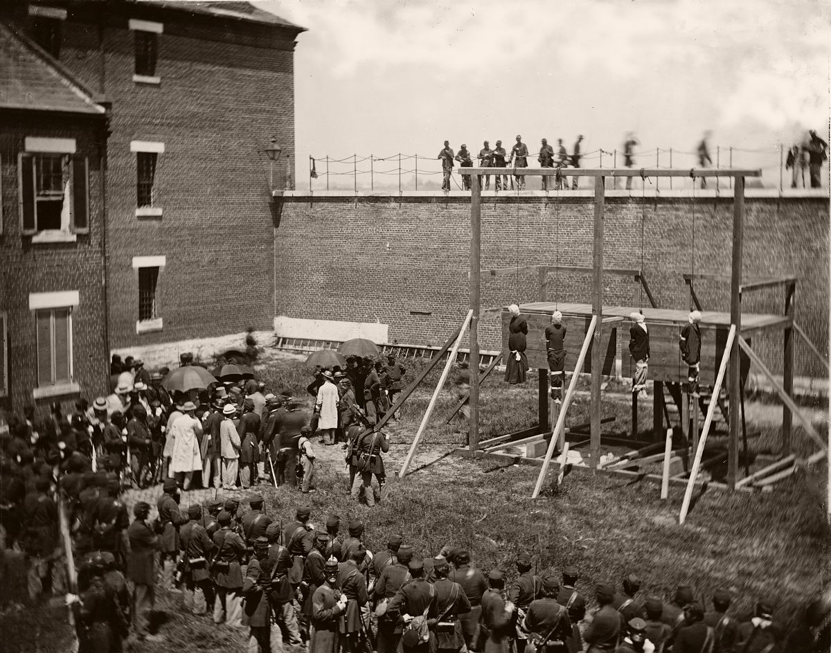 execution of lincoln conspirators