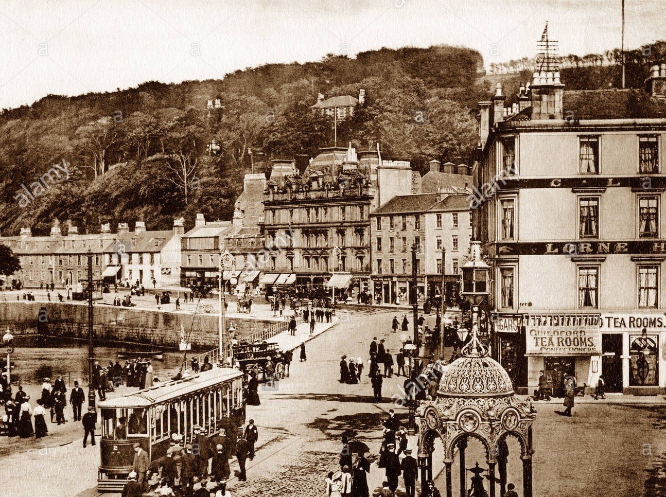 rothesay isle of bute guildford square victorian period DB3PHY 1